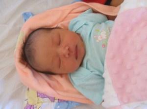 Sophia Sleeping 2